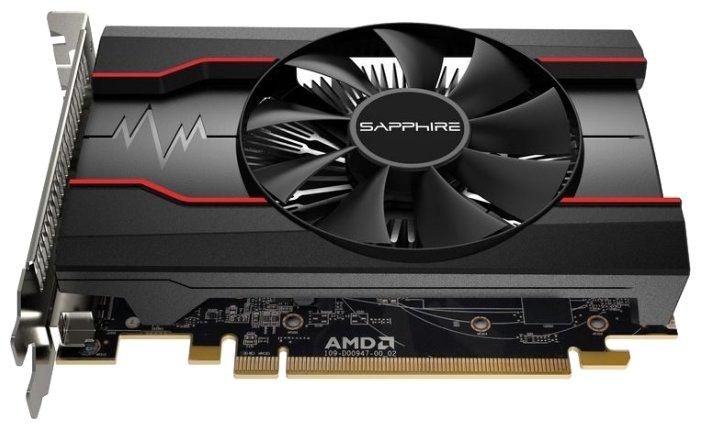 Sapphire Видеокарта Sapphire Pulse Radeon RX 550 1206Mhz PCI-E 3.0 2048Mb 7000Mhz 128 bit DVI HDMI HDCP