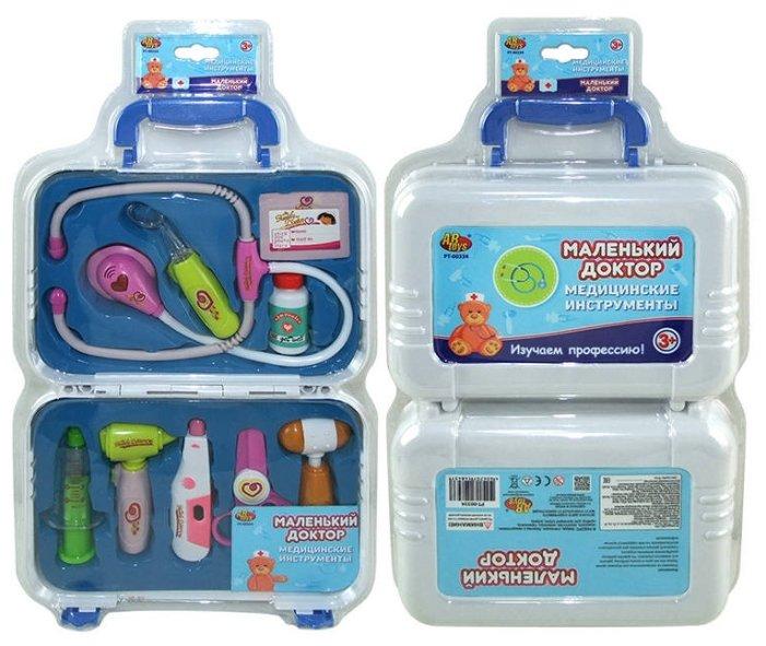 ABTOYS Набор медицинских инструментов в чемодане