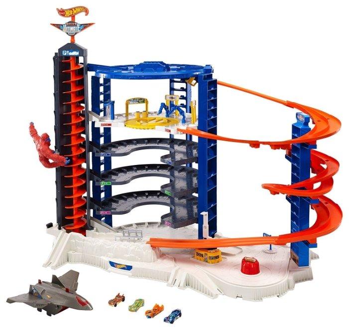 Hot Wheels Игровой набор Hot Wheels Super Ultimate Garage, 6-ти уровневый паркинг FDF25 — купить по выгодной цене на Яндекс.Маркете