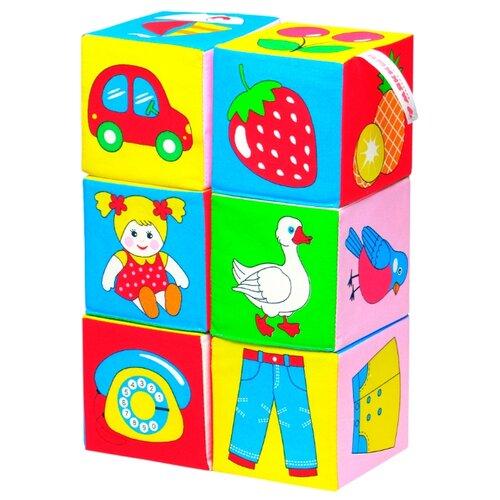 цена на Кубики Мякиши Предметы