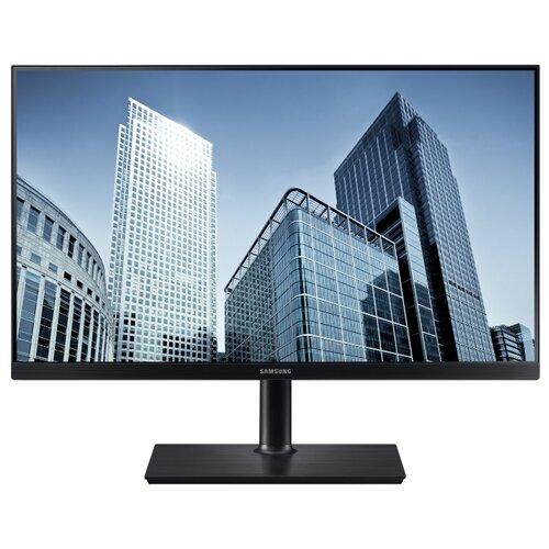 Монитор Samsung S24H850QFI 23.8 черный монитор samsung s27e391h 27 белый и голубой [ls27e391hsx ci]