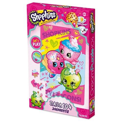 Купить Пазл Origami Shopkins Веселая компания (02877), 104 дет., Пазлы