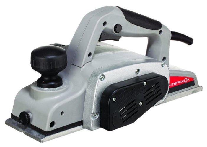 Электрорубанок Интерскол Р-110/1100М серый/черный