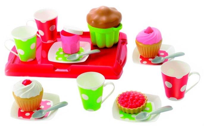 Набор продуктов с посудой Ecoiffier Завтрак