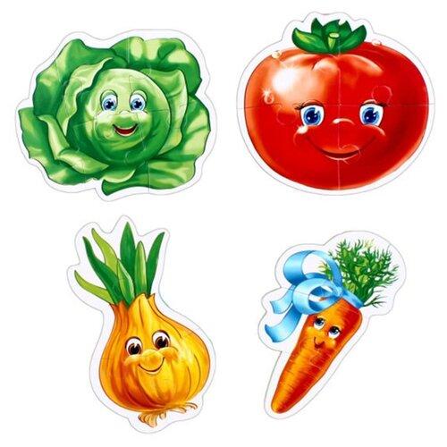 Купить Набор пазлов Vladi Toys Овощи (VT1106-03), Пазлы