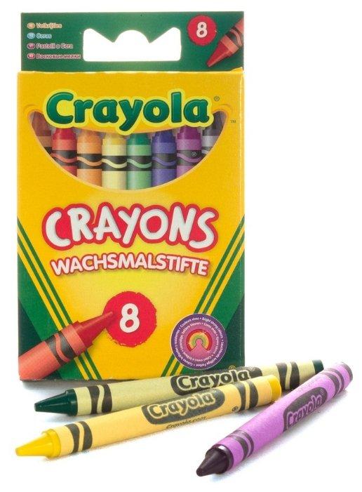 Crayola Восковые мелки 8 цветов 0008C