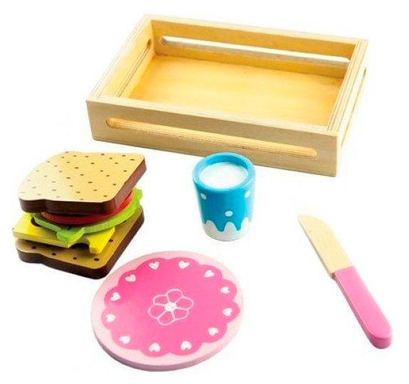 Набор продуктов с посудой Mapacha Сэндвич 76706