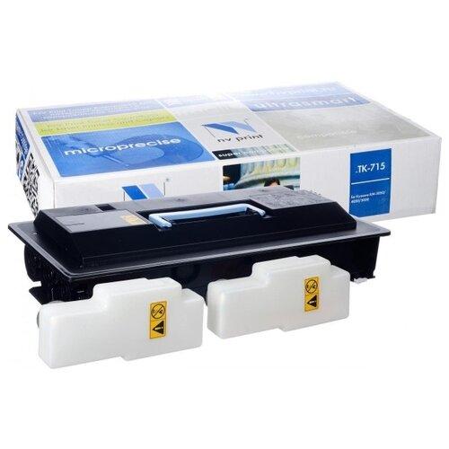 Фото - Картридж NV Print TK-715 для Kyocera, совместимый картридж nv print tk 865 yellow для kyocera совместимый