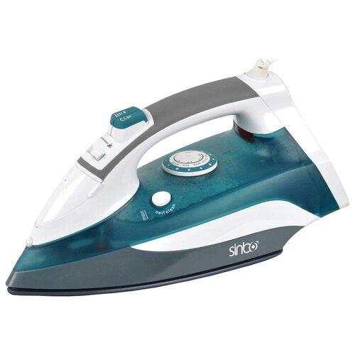 Утюг Sinbo SSI-6613 зеленый/белый/серый