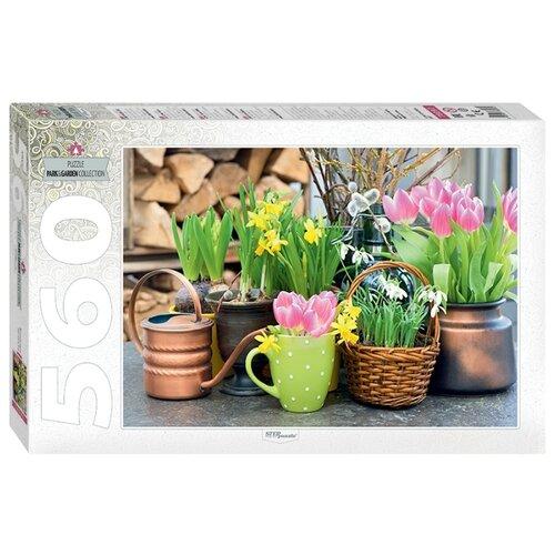 Купить Пазл Step puzzle Весенние цветы (78097), 560 дет., Пазлы