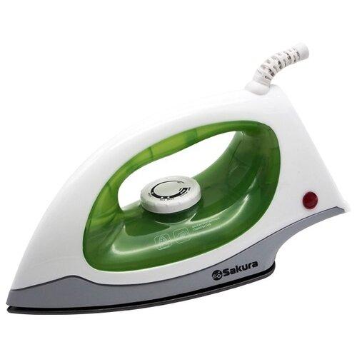 Утюг Sakura SA-3050NG / SA-3050NBK белый/зеленый