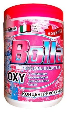 BOLLA OXY пятновыводитель универсальный концентрат