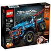 Электромеханический конструктор LEGO Technic 42070 Эвакуатор-внедорожник 6х6