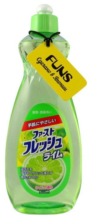 FUNS Средство для мытья посуды Свежий лайм