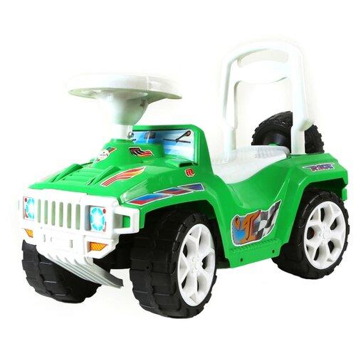 Купить Каталка-толокар Orion Toys Ориончик (419) со звуковыми эффектами зеленый, Каталки и качалки