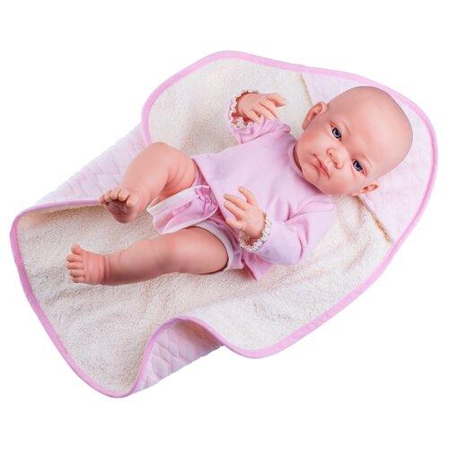Фото - Кукла Paola Reina Бэби в розовом 36 см 05015 кукла paola reina елена 21 см 02101
