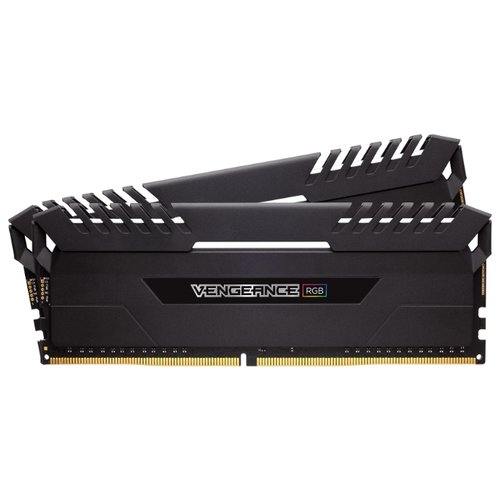 Оперативная память Corsair DDR4 3000 (PC 24000) DIMM 288 pin, 16 ГБ 2 шт. 1.35 В, CL 16, CMR32GX4M2D3000C16