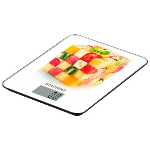 Кухонные весы STARWIND SSK3354/3355/3358/3359 белый/красный/желтый