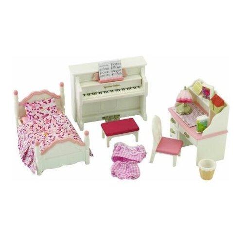 Игровой набор Sylvanian Families Детская комната бело-розовая 2953 детская комната легенда 10