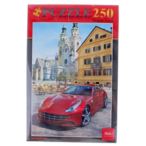Пазл Hatber Super Cars (250ПЗ3_01020), 250 дет. пазл hatber букет цветов 250пз3 09919 250 дет