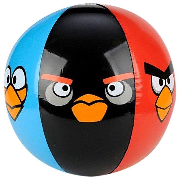 Мяч надувной Commonwealth Toy Angry Birds 91381