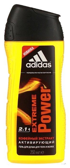 Гель для душа и шампунь Adidas Extreme power