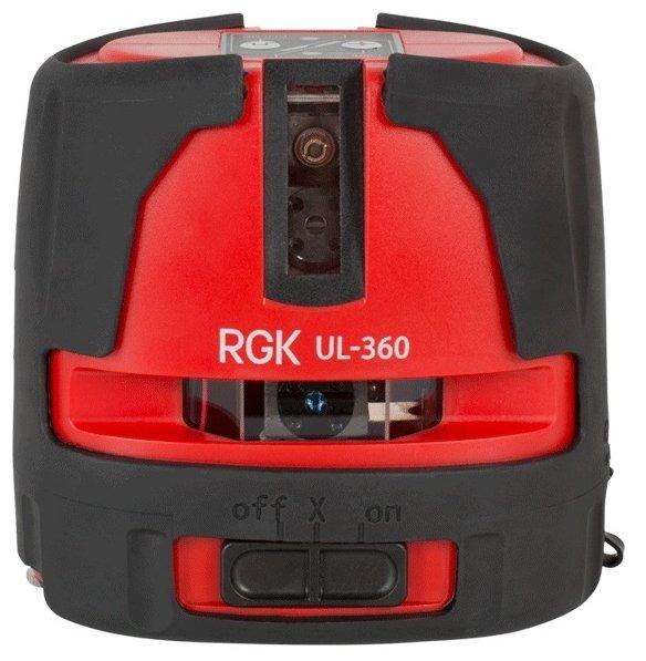 Лазерный уровень RGK UL-360 (4610011870811)