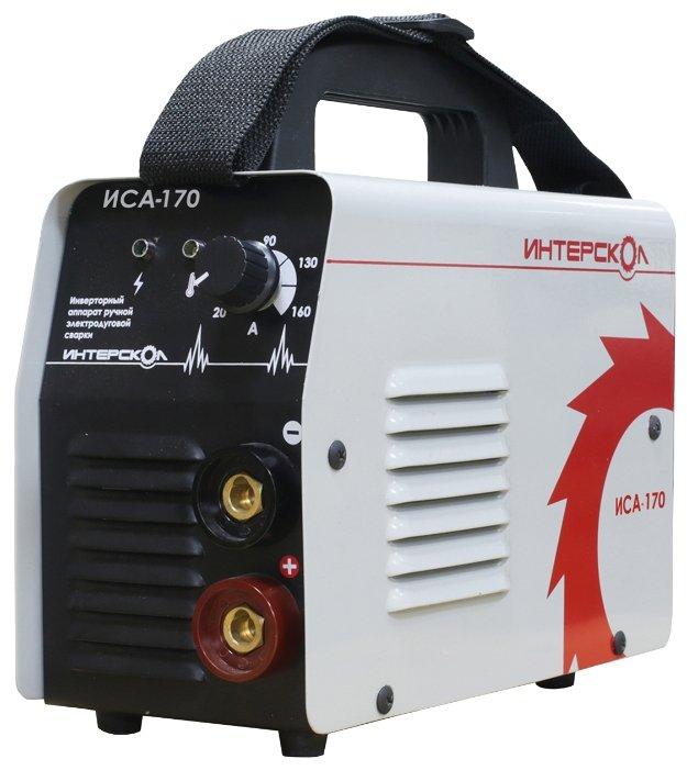 Сварочный аппарат Интерскол ИСА-170