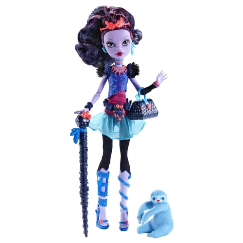 Кукла Monster High Джейн Булитл с питомцем, 27 см, BJF62