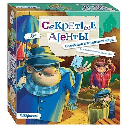 Фото - Настольная игра Step puzzle Секретные агенты настольная игра step puzzle лесное царство