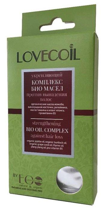 EO Laboratorie Lovecoil Укрепляющий комплекс масел для кожи головы против выпадения волос