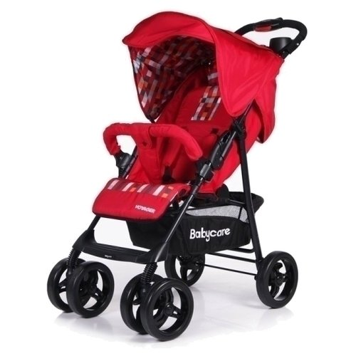 Прогулочная коляска Baby Care Voyager red коляска baby care voyager olive checkers