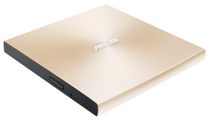Внешний привод DVD-RW ASUS SDRW-08U9M-U Ultra Slim DVD±R / ±RW USB 2.0 золотой