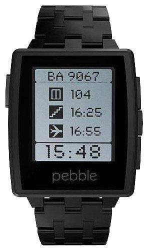 Часы Pebble SmartWatch Steel