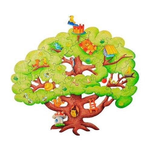 Пазл Woody Чудесное дерево (280) 39 дет..