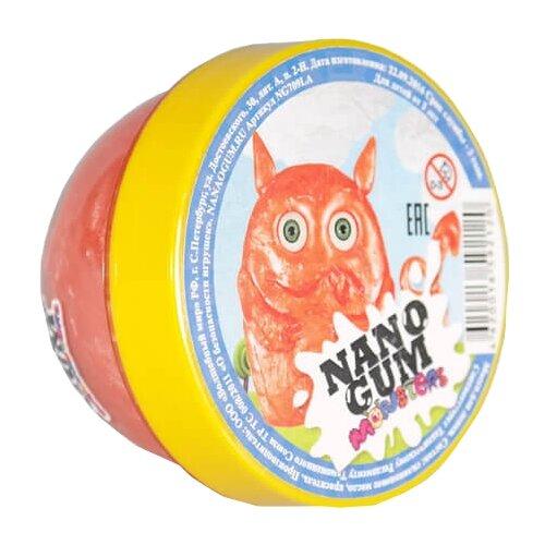 Жвачка для рук NanoGum Лави оранжевый/желтый
