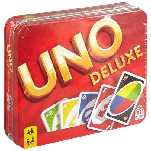 Фото - Настольная игра Mattel Uno Делюкс K0888 настольная игра mattel uno w2087