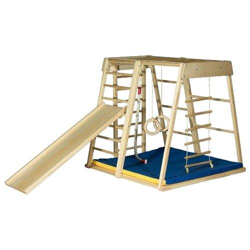 Купить Спортивно-игровой комплекс Kidwood Ракета Оптима светло-бежевый, Игровые и спортивные комплексы и горки