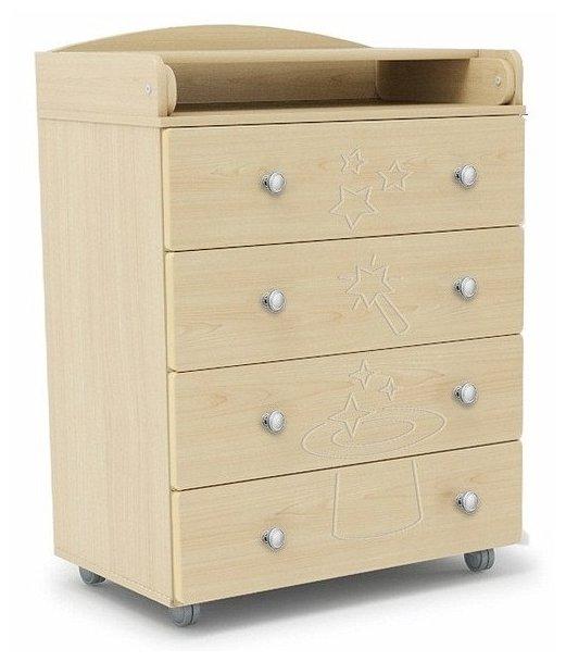 Пеленальный комод Mr Sandman Stork 4 ящика