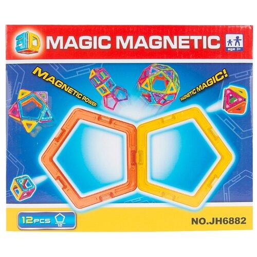Магнитный конструктор Игруша Magic Magnetic i-JH6882