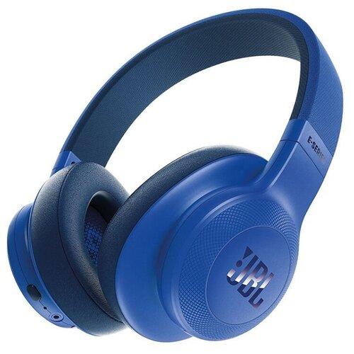 Беспроводные наушники JBL E55BT синий наушники jbl наушники беспроводные c шумоподавлением t600bt 32 ом синий