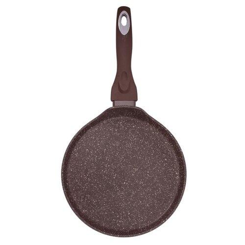 Сковорода блинная MOULIN VILLA Brownstone PC-24-I 24 см, коричневый сковорода d 24 см kukmara кофейный мрамор смки240а
