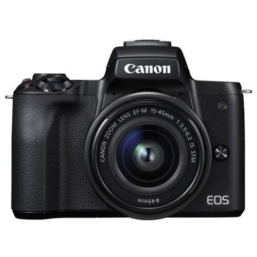 Фото - Фотоаппарат Canon EOS M50 Kit черный 15-45mm 15-45mm IS STM LP-E12 фотоаппарат