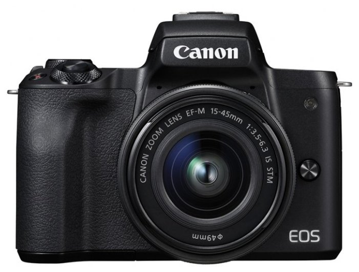 Фотоаппарат Canon EOS M50 Kit черный 15-45mm 15-45mm IS STM LP-E12