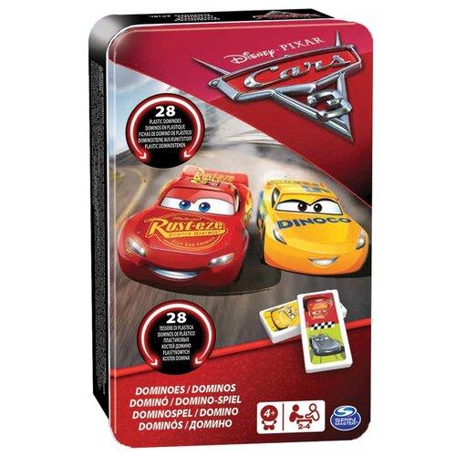 Настольная игра Spin Master Тачки-3 домино 6035600Настольные игры<br>
