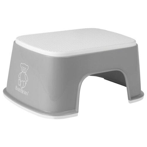 Купить Подставка для ног BabyBjorn 0611 серо-белый, Сиденья, подставки, горки