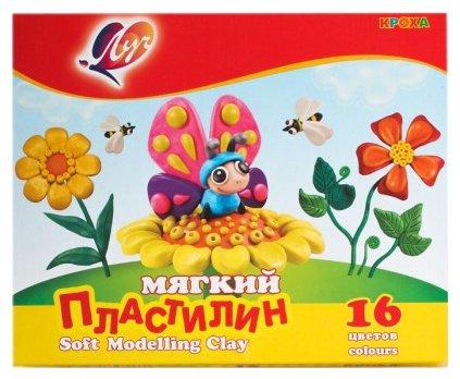 Пластилин Луч Кроха 16 цветов (28С 1646-08)