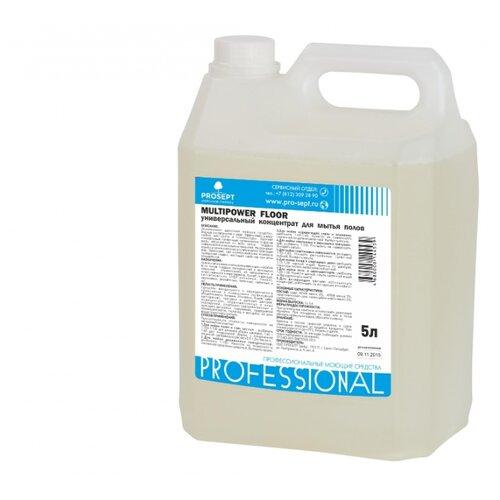 цена на PROSEPT Универсальный концентрат для мытья полов Multipower Floor 5 л