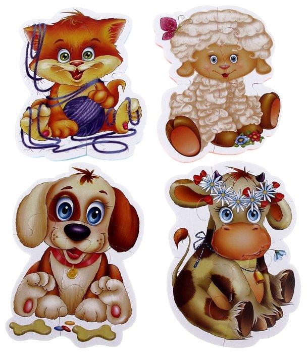 Набор пазлов Vladi Toys Домашние любимцы (VT1106-07)