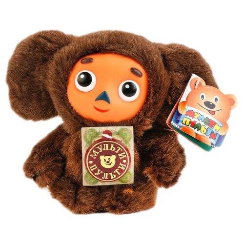 Купить Мягкая игрушка Мульти-Пульти Чебурашка коричневый 14 см, муз. чип, Мягкие игрушки